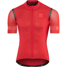 Craft Hale Glow Jersey Uomo, canyon/black